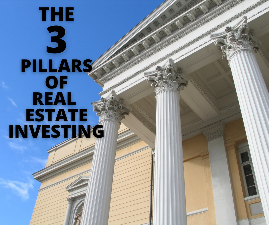 The 3 Pillars of Real Estate Investing