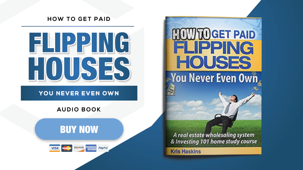 How To Get Paid Flipping Houses title card