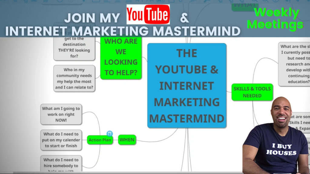 YouTube and Internet Marketing Mastermind Course title card